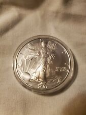 2007 silver eagles straight from freshly opened tube