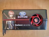 Sapphire Radeon HD 5770 ATI PCIe 2.1 Graphics Video Card GDDR5