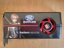 Sapphire Radeon HD 5770 ATI PCIe 2.1 Grafica Scheda Video Grafica double data rate 5