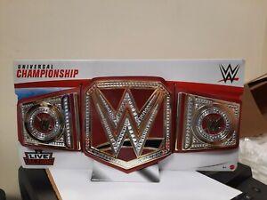 2020 MATTEL WWE Wrestling Universal Championship Belt FOR KIDS Red NEW