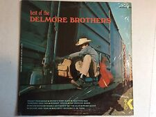 The Best of the DELMORE BROTHERS vinyl LP King Starday SK 1090 Stereo M-