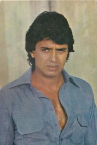 Bollywood Actor Postcard - Mithun Chakraborty (01)