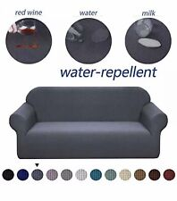 Premium Water Repellent Sofa Cover High Stretch Couch Slipcover Soft Fabric New