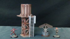 TTCombat - Wild West Scenics - WWS036 - Water Tower & Well