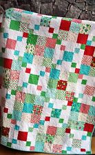 QUILT PATTERN Jelly Roll, Layer Cake or Fat Quarters Easy Quick Beginner Precuts