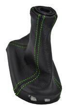 FITS CHEVROLET COBALT LS LT LEATHER SHIFT BOOT green stitch