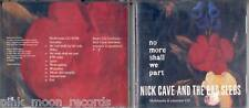 CD NICK CAVE  NO MORE SHALL WE PART MULTIMEDIA INT. CD