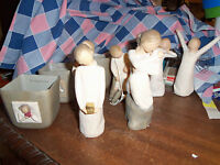 New (No Box) Store Displayed Willow Tree Figures Candleholders U Chose Use Drop