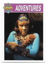 1995 Cornerstone DR WHO Base Card (161) Adventures