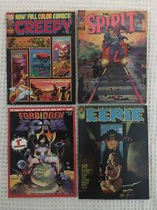 Richard CORBEN Underground Comix x4 LOT Creepy Eerie Forbidden Zone The Spirit