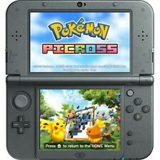 NEW 3DS XL, BLACK * newest model * THE POKEMON BUNDLE, 18 GAMES, 31 CARTOONS