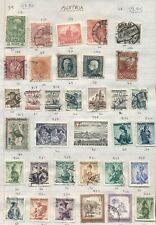 Austria: Accumulation of Mint & Used on Home Made Pages, Stock Cards + S/S