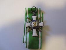 German WWI Saxon Order of Albert with Swords 1918 Saxony Saxe