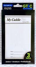 Yardage Book DIY My Caddie Pro 3 Pack