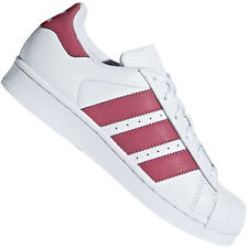 Adidas Superstar J Scarpe da Fitness Unisex-bambini Bianco (y1a)