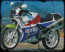 Aprilia Af1 125 Sport 90 A4 Metal Sign Motorbike Vintage Aged