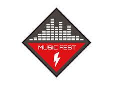 1 x Aufkleber Music Fest Hochspannung Equalizer Party Konzert Live Musik Club DJ