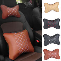 KQ_ JS_ KE_ Travel Car Auto Seat Head Neck Cushion Rest Pad HeadRest Bone Shape