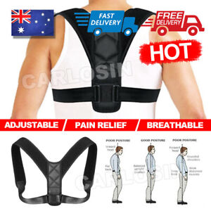 Posture Corrector Adjustable Back Shoulder Brace Support Band for Men and Women