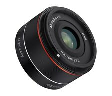 Rokinon 24mm F2.8 Full Frame Auto Focus Wide Angle Lens for Sony E  - IO24AF-E