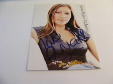 ANNA RYDER RICHARDSON Signed Photo Autograph TV Presenter Changing Rooms