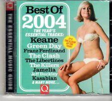 (FD635) Q magazine, Best Of 2004 - sealed 2004 Q Magazine CD