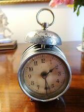 Antico orologio sveglia miniatura - Antique miniature alarm clock - wecker antik