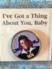"""NOS ELVIS PRESLEY MYSTIC STAMP COLORIZED QUARTER GREATEST HITS """"THING ABOUT YOU"""""""
