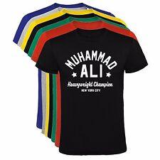 Camiseta Muhammed Ali hombre, tallas y colores