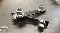 land rover series 2, 2a, 3 bulkhead bottom bracket to sill captive plate