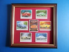KARMANN GHIA CARDS MOUNTED AND FRAMED