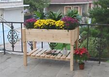 Raised Timber Garden Bed. Ideal for small space. Grow herbs, vegetables & plants
