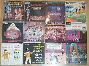 Black And White Minstrels Job / Bulk Lot Vinyl LP's. Collection x 12 LP's -