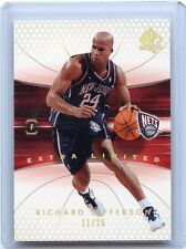 """2004-05 SP AUTHENTIC #54 RICHARD JEFFERSON """"EXTRA LIMITED"""" SP #11/25, NETS"""