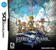 Heroes of Mana [Nintendo DS DSi, Square Enix, RPG Signature Art Style 2D] NEW
