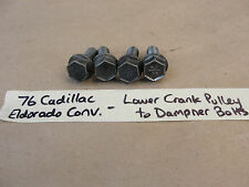 76 Cadillac Eldorado Conv LOWER CRANK CRANKSHAFT PULLEY TO DAMPNER BOLTS 472/500
