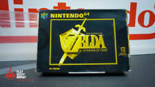 Vintage 1998 NINTENDO 64 N64 The Legend of Zelda Ocarina Of Time Game PAL EN CAJA