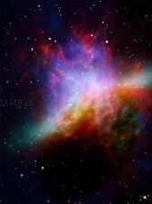 NEBULA SPACE STARS PURPLE PHOTO ART PRINT POSTER PICTURE BMP2066A
