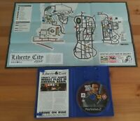GTA Grand Theft Auto Liberty City Stories Playstation 2 (PS2) + Map / Booklet