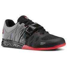 7ef2ca5bea77 Reebok Crossfit Lifter 2.0 Weightlifting Shoes Black Red Men s Shoes - Size  13