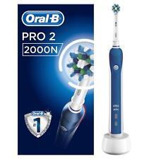 Oral-B pro 2000n | pro 2 CrossAction | cepillo de dientes | azul/blanco | nuevo & OVP
