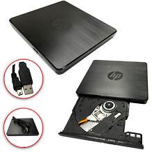 HP Externes DVD Laufwerk USB 2.0 Brenner Slim CD DVD-RW Brenner für PC Laptop