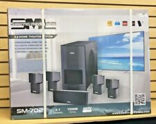 New listing New Salerno Media Labs 5.1 Home Theater System Sm-702
