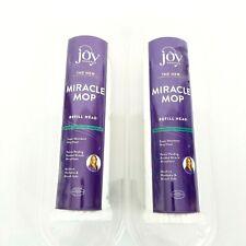 Joy Mangano Miracle Mop Refill Head Lot of 2 NEW Sealed