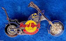 TIJUANA MEXICO CHOPPER YELLOW FLAME BLUE MOTOR CYCLE BIKE Hard Rock Cafe PIN