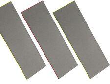 CT0823/4/5 3PC Diamond Sharpening Stone Set Fine, Extra Fine & Coarse Whetstone
