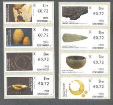 Ireland-History of Ireland in 100 objects-mnh- unm set 2017