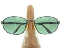 Vintage Yves Saint Laurent 6071 Y367 Gunmetal Rectangle Sunglasses Frames Italy