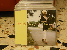 ERYKAH BADU - BAG LADY remix e intrumental - cd slim case PROMOZIONALE 2000