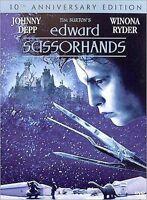 EDWARD SCISSORHANDS (10TH ANNIV. EDITION DVD: 1990)